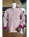 Skull beef print men's shirt   ABH Collection JÁVEA