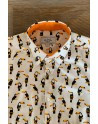 Toucan print men's shirt | ABH Collection JÁVEA