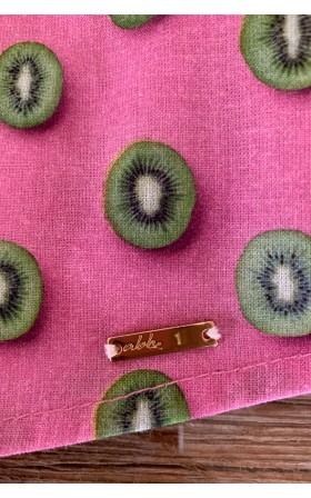 ABH Collection JÁVEA Kiwi pattern men's shirt