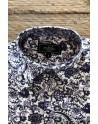 Camisa de hombre estampado flor de loto púrpura | ABH Collection JÁVEA