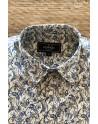 Art blue printed mens shirt | ABH Collection JÁVEA