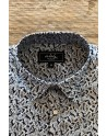 Camisa de hombre azul estampado paisley | ABH Collection JÁVEA