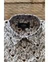 Brown paisley print men's shirt | ABH Collection JÁVEA