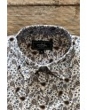 Camisa de hombre estampado paisley marrón | ABH Collection JÁVEA
