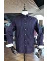 Camisa de hombre estampado diamante roja | ABH Collection JÁVEA
