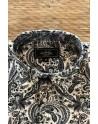 Chemise homme imprimés cachemire gris | ABH Collection JÁVEA
