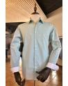 Camisa de hombre estampado abanico   ABH Collection JÁVEA