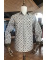 Diamond print men's shirt | ABH Collection JÁVEA