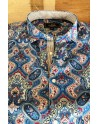 Camisa de hombre Slim fit estampado cachemir | ABH Collection JÁVEA