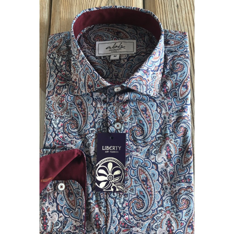 Camisa de hombre LIBERTY Of LONDON Tessa | ABH Collection JÁVEA