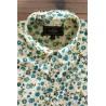 Eggshell men's shirt with daisy print | ABH Collection JÁVEA