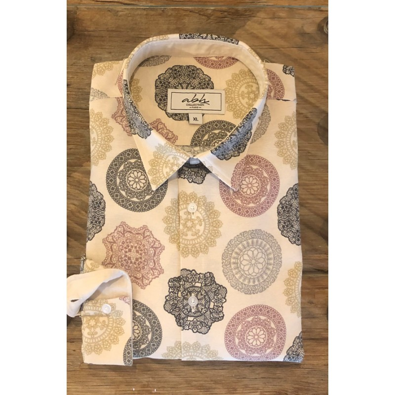 Men's Medallion printed shirt | ABH Collection JÁVEA
