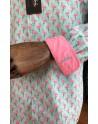 Chemise homme imprimés flamant rose | ABH Collection JÁVEA