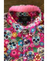 ABH Collection JÁVEA Camisa de hombre calavera mexicana
