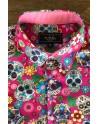 ABH Collection JÁVEA Mexican skull men shirt