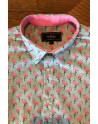 Flamingo print men's shirt | ABH Collection JÁVEA