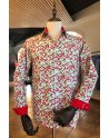 Camisa de hombre estampado guindilla roja | ABH Collection JÁVEA