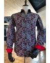 ABH Collection JÁVEA ethnic print Man shirt