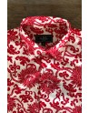 Camisa de hombre estampado flore roja | ABH Collection JÁVEA