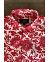 Chemise homme imprimés fleur rouge | ABH Collection JÁVEA