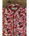 Camisa de hombre roja estampado corazón | ABH Collection JÁVEA