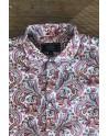 Pink paisley print men's shirt | ABH Collection JÁVEA