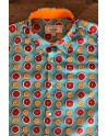 Citrus print men's shirt | ABH Collection JÁVEA