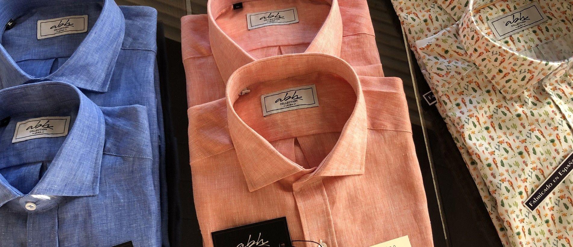 camisa numerada para hombres